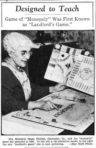 Magie i Washingtons Evening Star 1936.