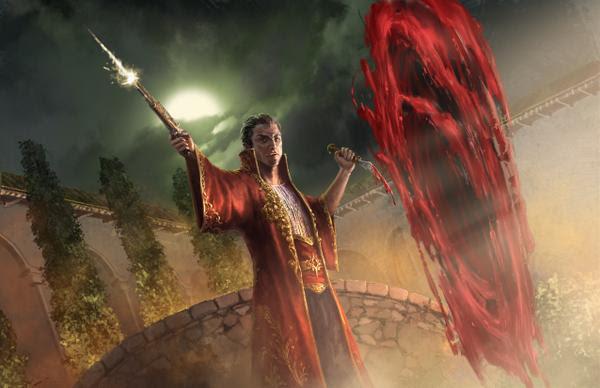 Porté är en av de rojalistiska ätternas magiska konster.