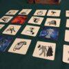 Spelbrickor från Codenames: Pictures