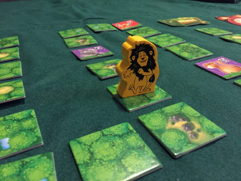 Detaljbild från spelet Leo