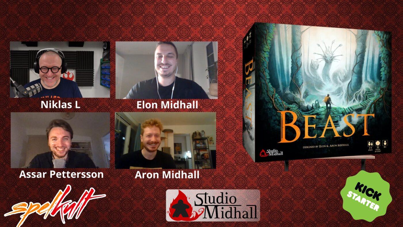 Beast Board game